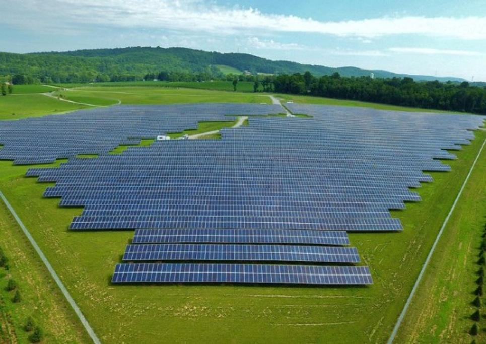 В Черкасской области заработала солнечная электростанция, которая будет питать более 11 000 домохозяйств