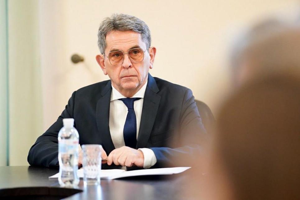 Ілля Ємець. Фото прес-служби МОЗ