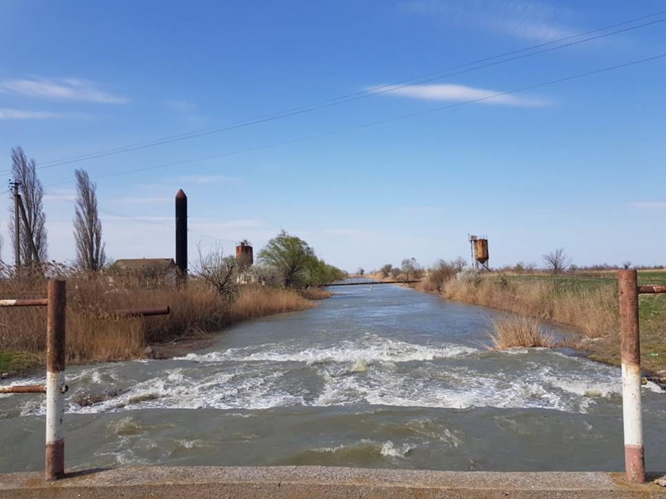 Здійснення примусової підкачки води у водосховище Катлабух з р. Дунай