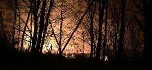 Пожежа у Ніжинському держілсгоспі