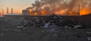 Пожежа у Вишгородському районі, склад диму невідомий, людям зле