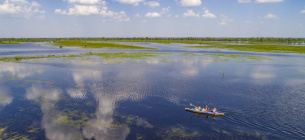 Таким красивим і повноводним може бути Полісся, якщо його не знищити недолугим каналом. Фото кампанії Збережемо Полісся