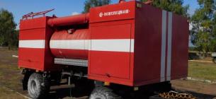 Пожежний модуль Ічнянського парку, за інформацією активістів, не використовується, бо наявний трактор несправний