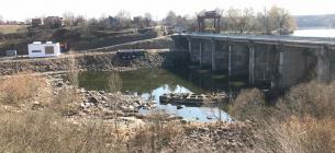 ситуація на Росі критична. Фото Басейнового управління водних ресурсів