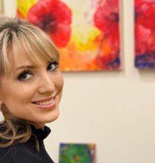 Ольга Буславец. Фото с ее Facebook-страницы