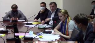 Скріншот відеотрансляції засідання комітету