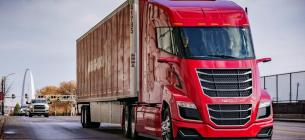 Прототип вантажівки Nikola Truck Two тестується на дорогах США. Тут і далі фото dw.com