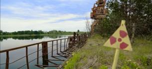 """Кадр з фільму """"Река Припять - самая большая радиоактивная река Чернобыльской зоны отчуждения"""""""