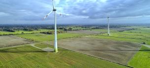 На юге Украины возводят ветровую электростанцию на площади 68 гектаров