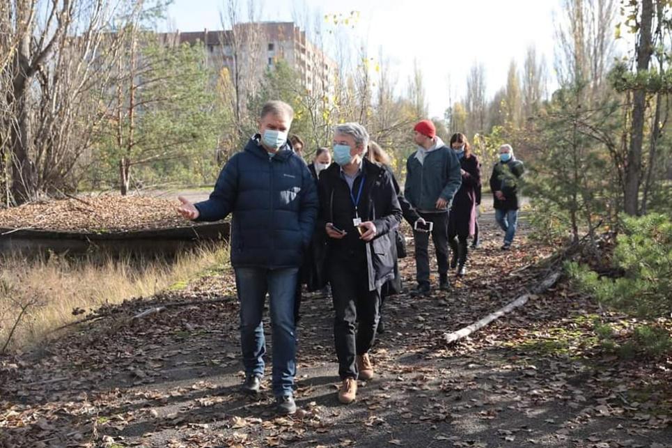 Фото: Facebook-сторінка Державного агентства України з управління зоною відчуження