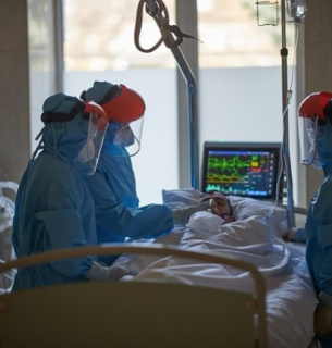 Коронавирус, инфекционное отделение