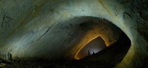 Печера Мовіле у Румунії, що має великий вміст вуглекислого газу