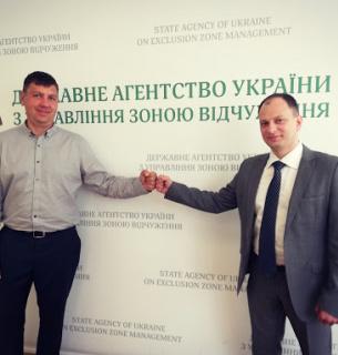 Андрій Пляцок прийшов у колектив Державного агентства з управління Чорнобильською зоною відчуження на початку літа 2020 року.