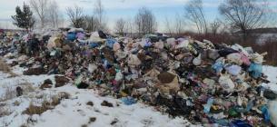 Саме це сміття перекинули у водойму