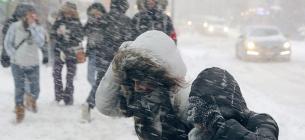 Синоптик попередила про снігопади та штормовий вітер