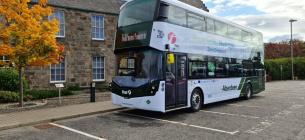 Перші у світі двохповерхові автобуси з водневим двигуном