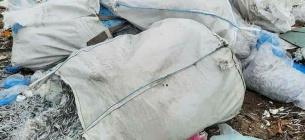 Медичне сміття на смітнику. Фото: телеграм-канал