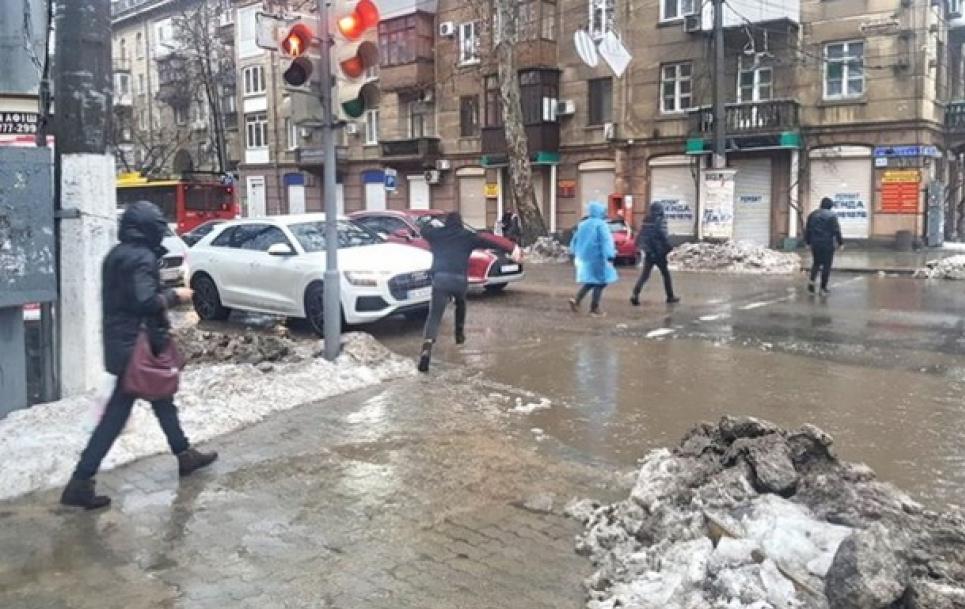 Одессу затопило. Фото: Наблюдатель
