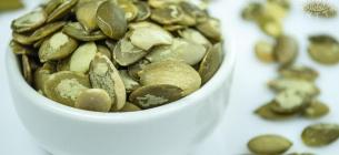 Насіння гарбуза - користь від споживання