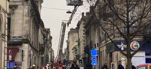 Вибух у Бордо. фото: twitter