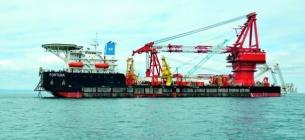 Судно Фортуна згорнуло роботи у водах Данії. Фото: korabel.ru