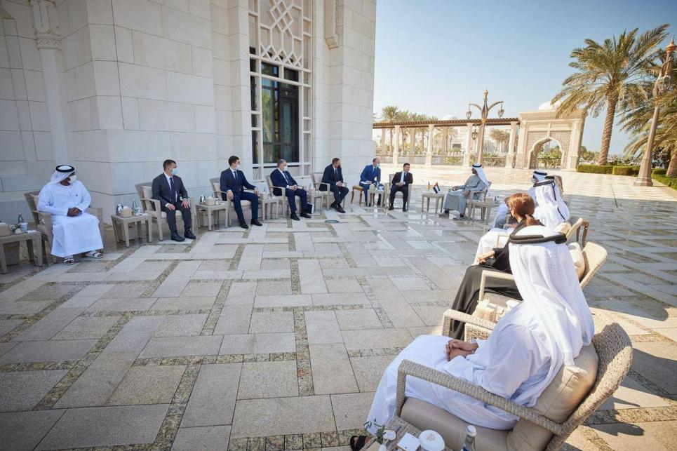 ОАЭ готовы сотрудничать с Украиной в ряде важных экологических вопросов