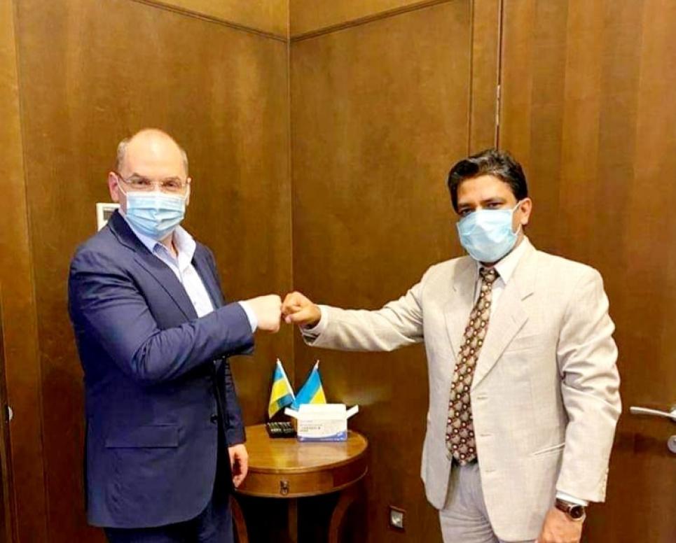 Украинцев будут вакцинировать от COVID индийской вакциной