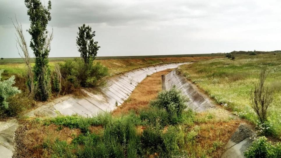 В ОПУ ще не визначилися, що робити з Північно-Кримським каналом. який живить анексований півострів водою