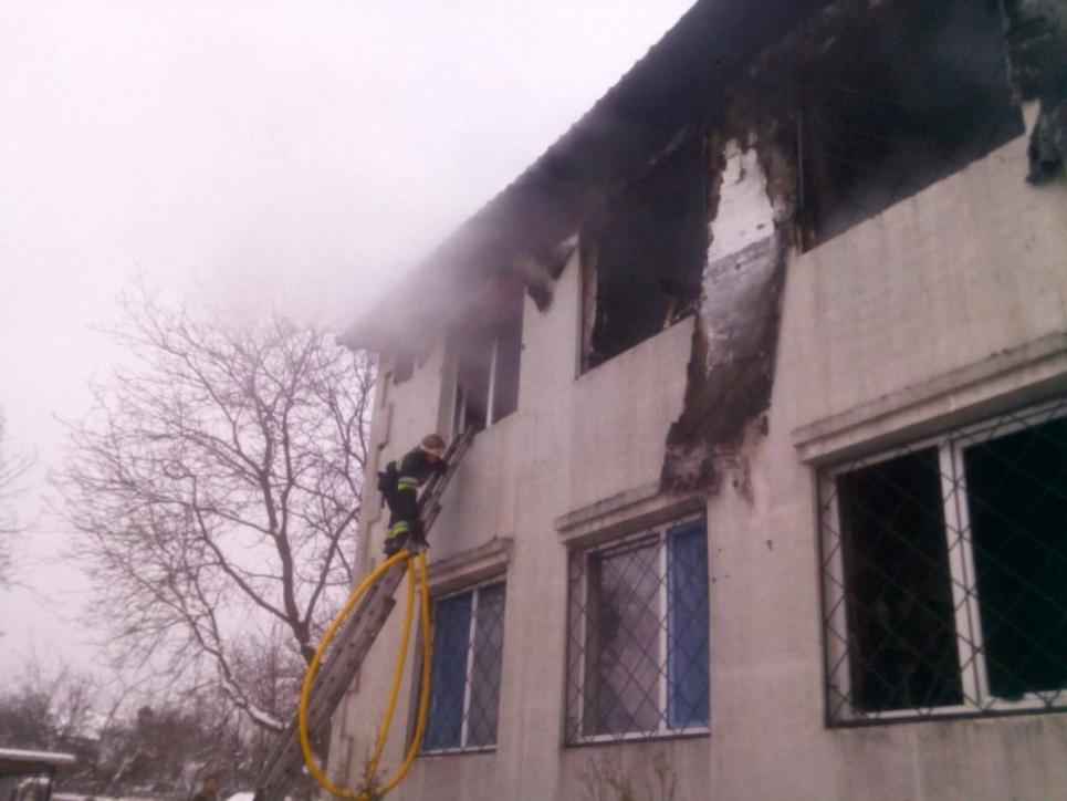 Озвучили точні причини пожежі у нелегальному будинку для літніх