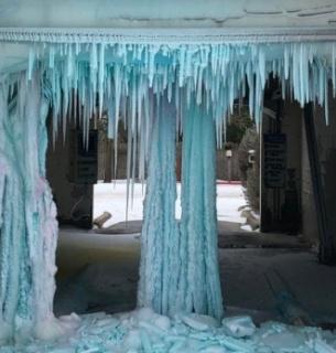 Холодні фото з Техасу
