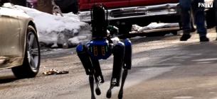 Преступников вместе с полицией ловит четвероногий робокоп