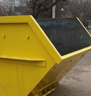 Контейнер для сбора крупногабаритного мусора.Фото: Суспільне Кропивницкий