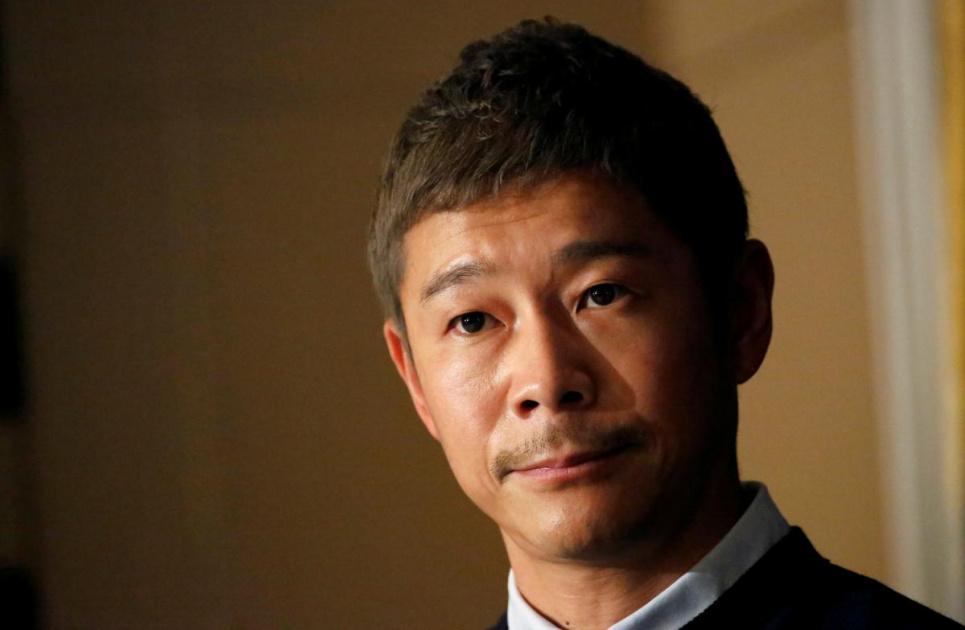 Фото REUTERS. Японский миллиардер подарит билеты на первый коммерческий полет до Луны восьми счастливчикам