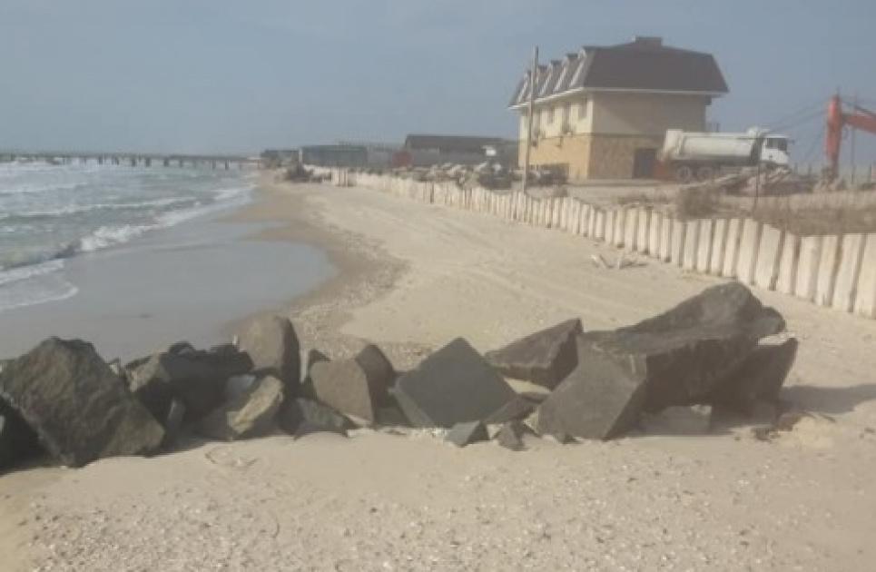 В НПП «Тузловские лиманы» заявили об отсыпке строительныИ.Выхристюк