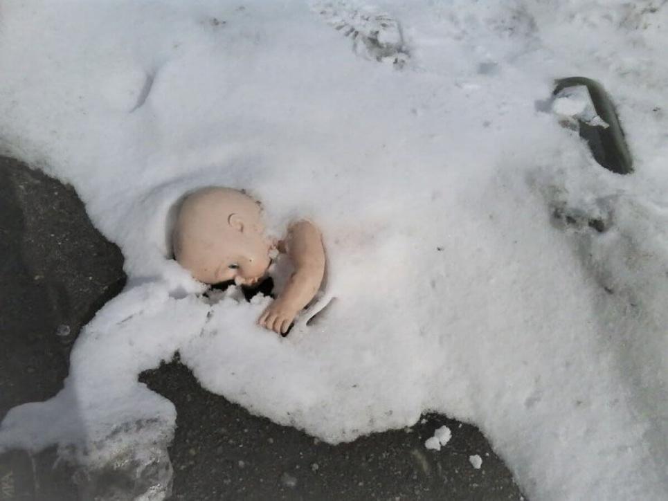 Однорічний малюк замерз на смерть