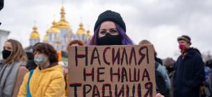 В Киеве состоялся Марш женщин. Фото: the-village.com.ua