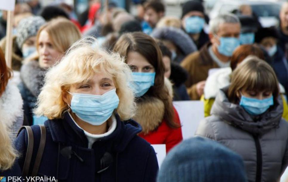 В Україні розпочалася третя хвиля епідемії коронавірусу