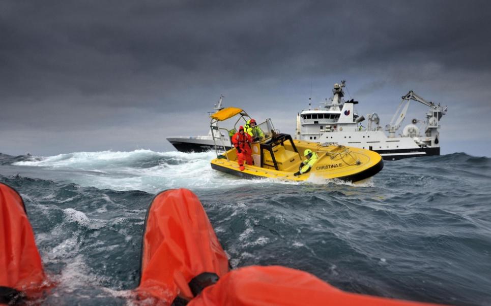В Черном море затонуло судно с украинским экипажем, Продолжается поисковая операция. Фото иллюстративное