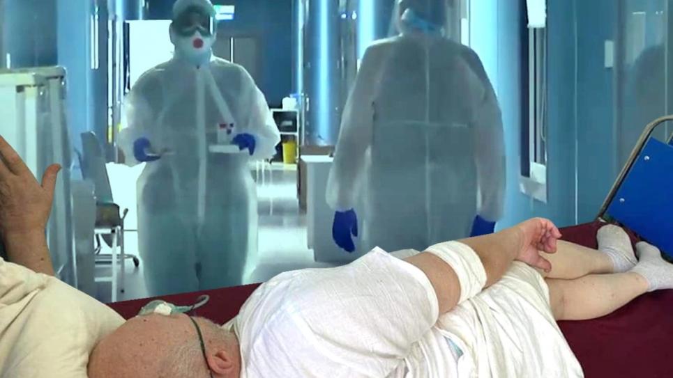 В Україні більшає лікарень, де ковідні хворі лежать просто в коридорах