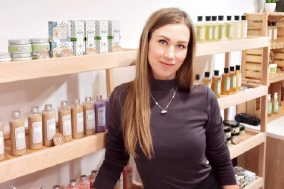 У Кропивницькому дівчина створює унікальну натуральну косметику, якою зацікавилися в Німеччині