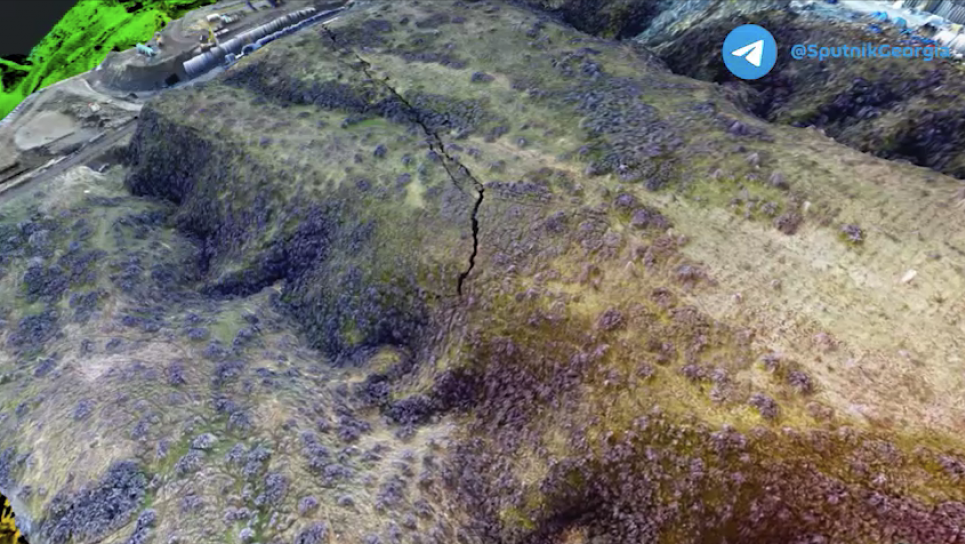 Фото Sputnik Грузія - Тбілісі загрожує гігантський зсув