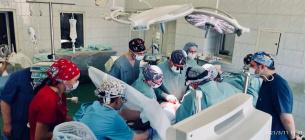 У столичному «Охматдиті» провели першу трансплантацію нирки. Фото: І. Заславець