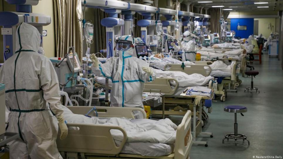 Фото dw - Найбільше нових хворих на Харківщині та Дніпровщині
