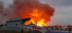 Фото «Думская». За вихідні сталося кілька сотень пожеж сухої трави, вчинених людьми