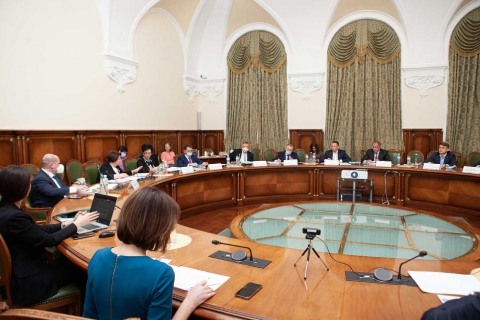 В Национальном банке говорили о климатических изменениях и поддержке экологии