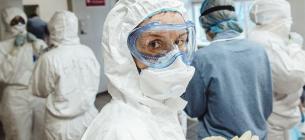 В Одесі ковідних хворих лікували на «тупо намальованих» ліжках