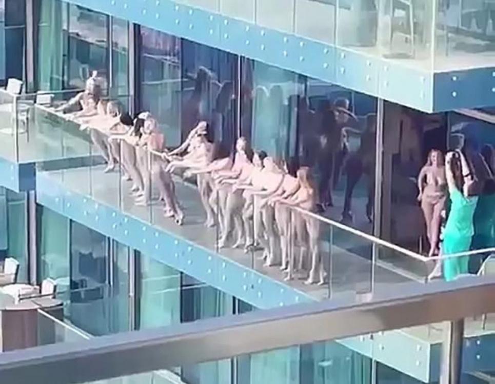 11 оголених українок затримали у Дубаї під час фільмування пікантного відео