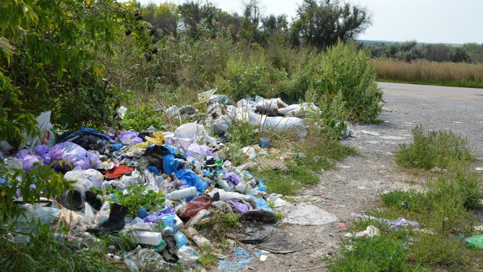 Окраины Одессы горожане превратили в помойку. Фото иллюстративное