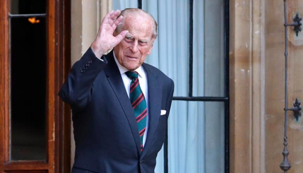 9 апреля умер принц Филипп, супруг королевы Великобритании