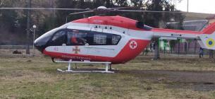 Львівщина стала першим регіоном, де виконали цивільну аеромедичну евакуацію